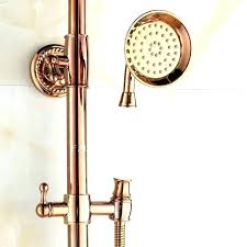 Copper shower fixtures Bespoke Two Handle Shower Fixture Outdoor Shower Faucets Shower Above An Lux Freestanding Outdoor Shower Has Two Handle Shower Fixture Dichvuthanhlapdoanhnghiepinfo Two Handle Shower Fixture Shower Faucet Classic Shower Faucets Two