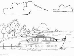 Boten Motorboot En Jachten Kleurplaten