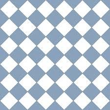 Checker Pattern Inspiration White Blue Seamless Retro Checker Pattern