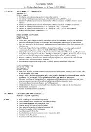 Skills For Jobs Resume Best Of Safety Inspector Resume Samples Velvet Jobs