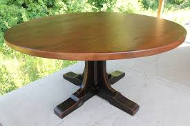 round table with custom mission pedestal base kabot6