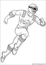 Power Ranger Coloring Page Party Ideas Power Rangers Coloring