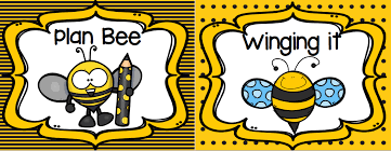 Bee Behaviour Chart Busy Bee Behavior Chart