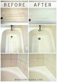 how to clean a tub cleaning bathroom tips bathtub