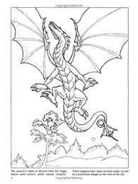 images of dragons to color. Simple Images Dragons Coloring Book Dover Books Christy Shaffer  9780486420578 Amazon To Images Of Color G