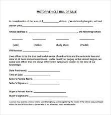 Sample Of Bill Of Sale For Car Example Of Bill Of Sale For Car Elegant Sample Bill Sale Auto Or