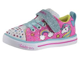 Skechers Light Up Unicorn Shoes Details About Skechers Toddler Girls Unicorn Craze Pink Multi Light Up Sneakers Shoes