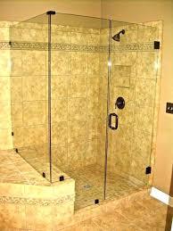 how to install shower doors door installation cost glass phoenix labor framed vs costco tub s