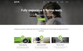Website Template Gorgeous Jednotka Responsive Website Template WrapBootstrap