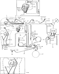 Electrical system explained in wiring diagram for john deere l130 the at 4230 and 4020 starter 12