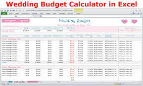 Online Wedding Budget Under Fontanacountryinn Com