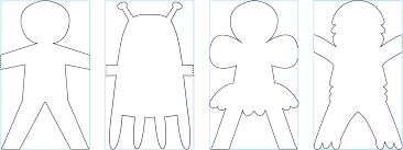 Sample Paper Doll Sample Paper Doll Resume Template Sample 1