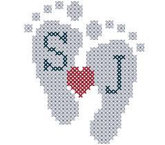Cross Stitch Birth Announcement Patterns Free Unique Design Inspiration