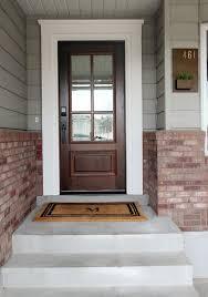 glass front doors exterior steel doors dark wooden door with 6 door panel grey