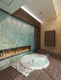 luxury bathrooms with fireplaces inspiration and ideas from
