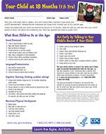 Important Milestones Your Baby By Eighteen Months Cdc