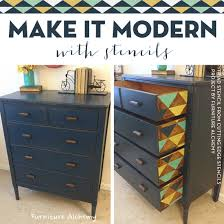 diy painted furniture ideas. Make It Modern With Stencils. DIY Home Decor IdeasInspirationStenciled Furniture Diy Painted Ideas