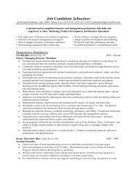 Cover Letter Sample Business Development Resumes Sample Business