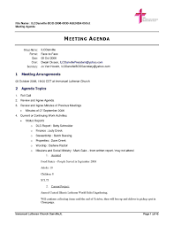 Meeting Outline Sample Board Meeting Agenda Template For Word Open Sample Resume 24 20