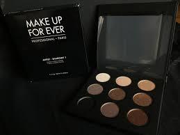 new make up forever artist palette shadows 1
