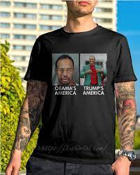 Tiger Woods Obama's American Trump's American shirt – T-Shirt AT Fashion LLC