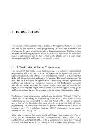 linear programming and its applications h a eiselt acirc middot c l sandbl