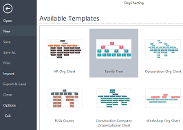 Family Tree Organizational Chart Template How To Create Family Tree Diagrams With Org Chart Software