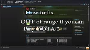 easy how to fix out of range resolution dota 2 and all games