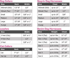 Collar Size Chart What Size Do I Need