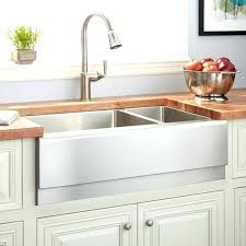 metal farmhouse sink metal a sink optimum offset double bowl stainless steel farmhouse optimum offset double metal farmhouse sink