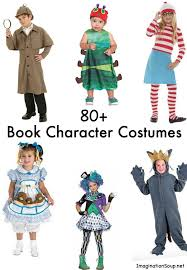 huge list of book character costumes kids for children