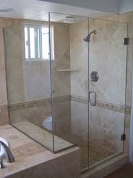 frameless shower doors with wide paddingmission viejo ca
