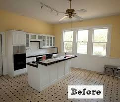 Small Picture Before After Kim Creates a New Vintage Kitchen in Texas