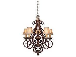 minka lavery belcaro walnut 28 wide five light chandelier