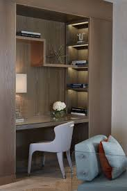 Bookshelf and leather inlay desk detail | Chelsea Suites, The Berkeley  Hotel | Robert Angell