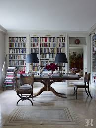 home library ideas home office. i want to see more books and less open space but similar concept my dream library walls of large desk in the centre home ideas office 3