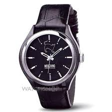 "men s moschino lets turn black watch mw0068 watch shop comâ""¢ mens moschino lets turn black watch mw0068"
