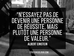 Citation Dalbert Einstein Sur La Réussite Et Le Succès Beatrice