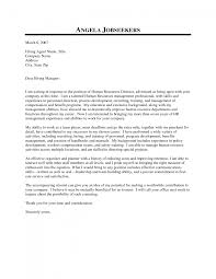 cover letter fresh for hr generalist ening addressing cover letter to human resources