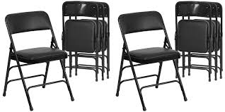black metal folding chairs. Amazon Is Offering The Hercules Metal Folding Chairs For Just $22 Prime Shipped Each (Reg. $30+) Black :