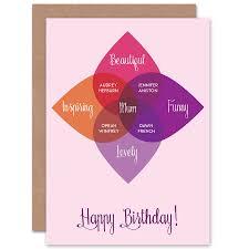 Birthday Venn Diagram Mum Venn Diagram Wee Blue Coo