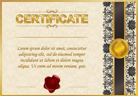 excellent certificate and diploma template design vector in  excellent certificate and diploma template design