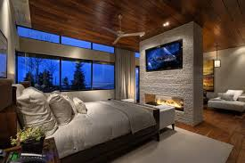 modern master bedroom with fireplace. Modern Master Bedroom With Fireplace Fskipseye H