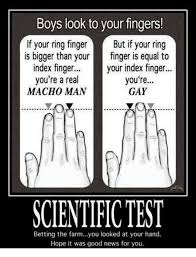 The real gay test