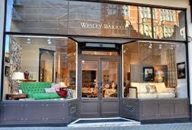 furniture shop london w1 west end wesley barrell
