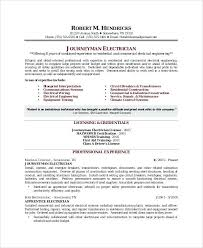 Sample Of Electrician Resumes Electrician Resume Sample Wikirian Com