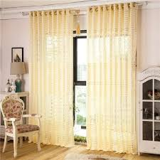 large image for yellow sheer curtains india past curtain jacquard shade window sheer curtain tulle panel