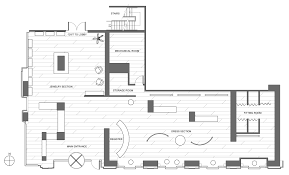 store floor plan design. A Store Plan With Sections Clothing Boutique Floor Retail Design
