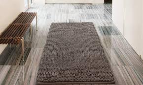 braided chenille oversized bath rug 24x60 oversized bath rug