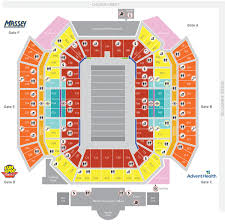 Uk Football Stadium Seating Chart Stadium Florida Citrus Sports